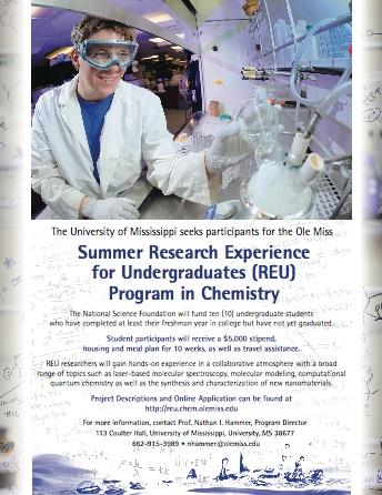 Physical Chemistry Summer Research Program